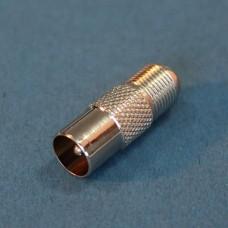 IEC male-F female adaptor