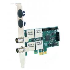 Digital Devices Cine C2/T2I V7 - SimpliTV compatible (ORF) - Twin Tuner TV Karte DVB-C/C2/T/T2/ISDB-T